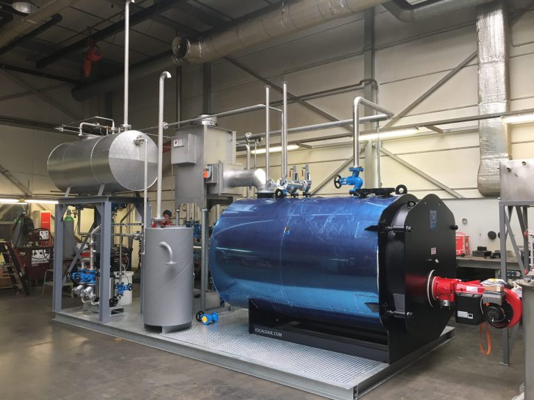 Steam boiler by RIS Rubber