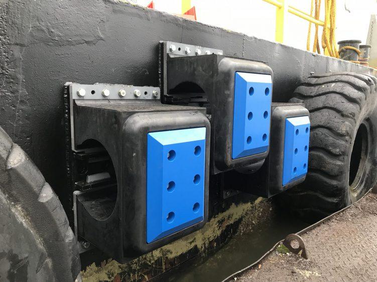 Stairfender small met HMPE glijplaat
