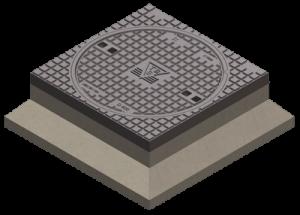 Put incl. beton behuizing